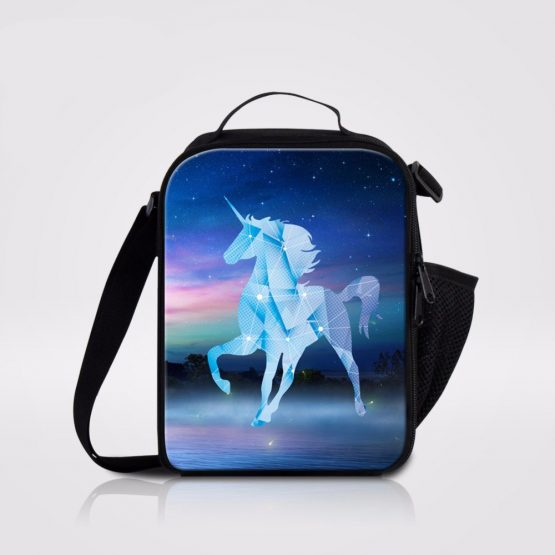 Unicorn Prints Shoulder Lunchbox