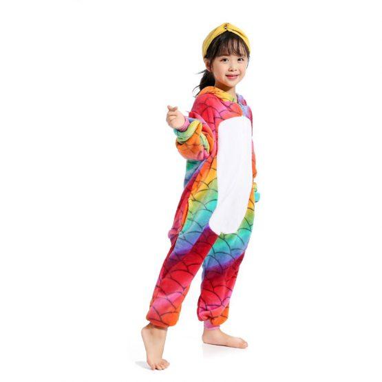 Kids Rainbow Unicorn Onesie