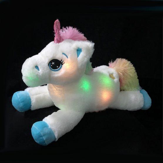 Colorful LED Unicorn Plush Toy