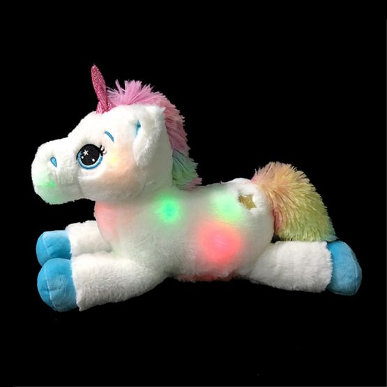 Colorful LED Unicorn Plush Toy