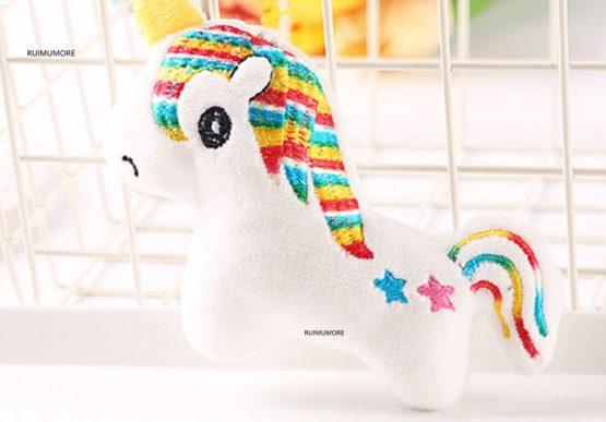 Unicorn Stuffed Plush White/Pink