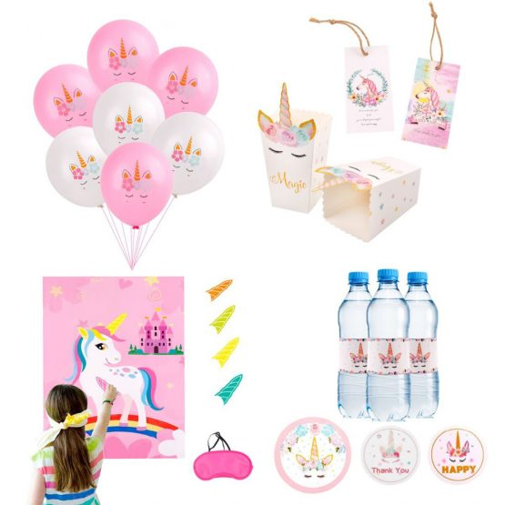 Unicorn Decorative Party Sets