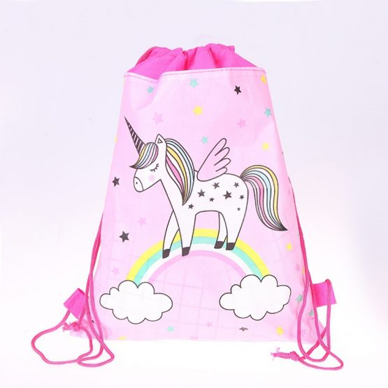 Unicorn Gift Bag Drawstring