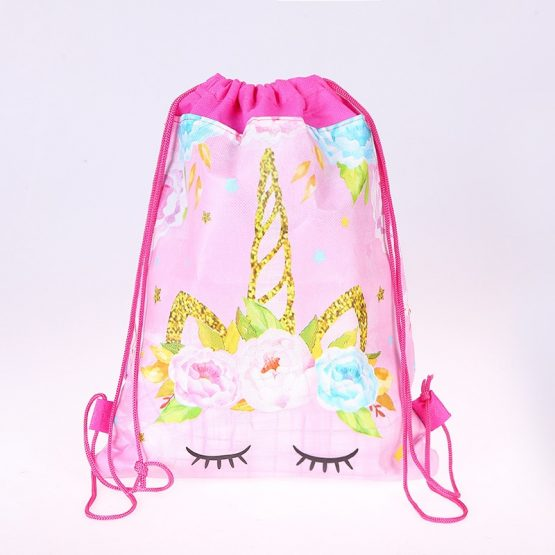 Unicorn Gift Bag Drawstring