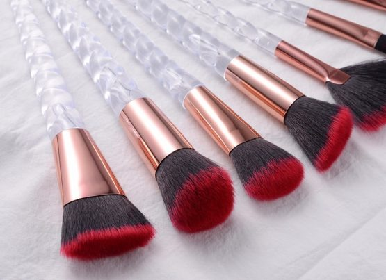 Unicorn Makeup Brushes Sets Glitter