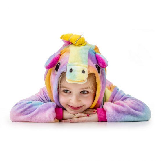 Rainbow Unicorn Onesie – Kids