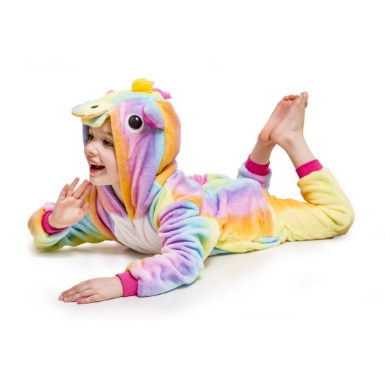 Rainbow Unicorn Onesie – Kids