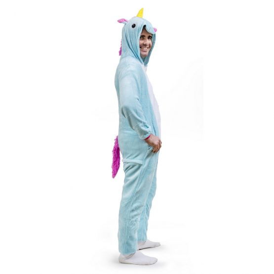 Blue Unicorn Onesie – Adult