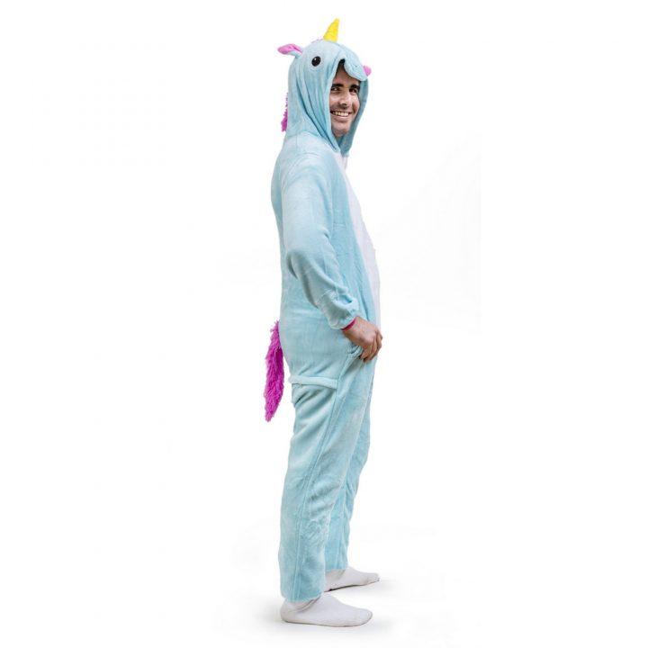 Blue Unicorn Onesie – Adult