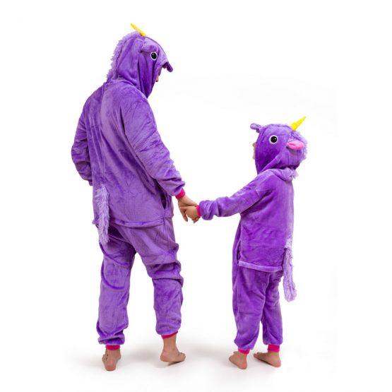 Purple Unicorn Onesie – Adult