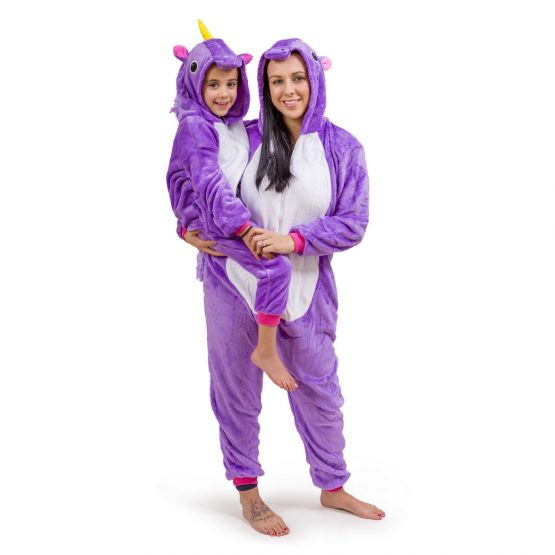 Purple Unicorn Onesie – Adult