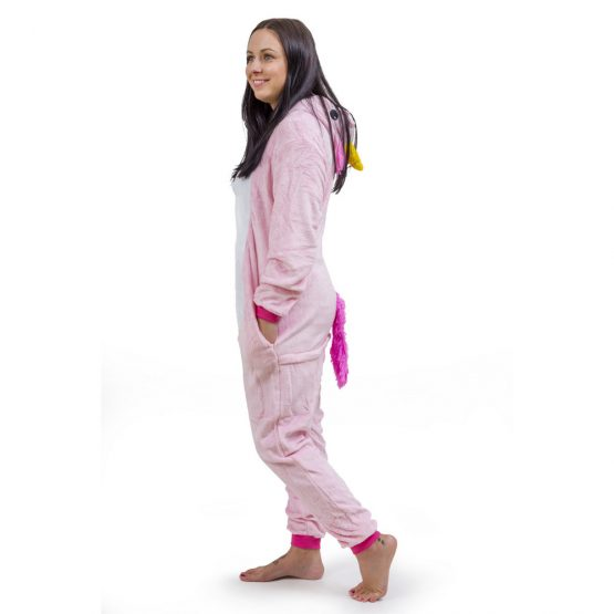 Pink Unicorn Onesie – Adult