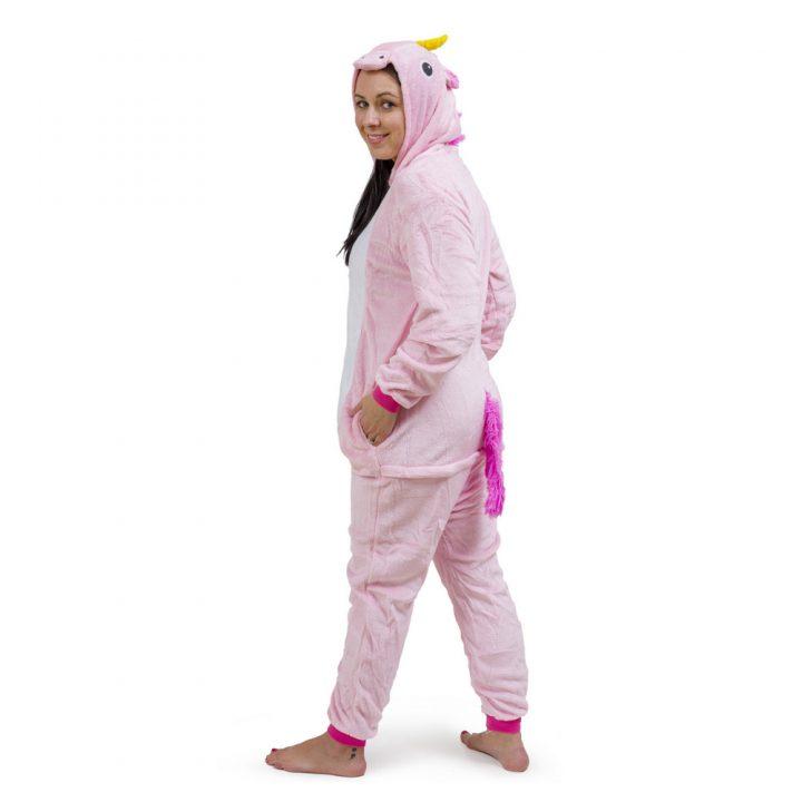 Pink Unicorn Onesie – Adult