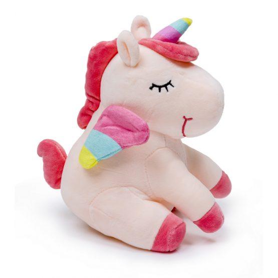 Soft & Cuddly Unicorn Plush Toy – Pink