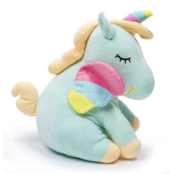 Soft & Cuddly Unicorn Plush Toy – Blue