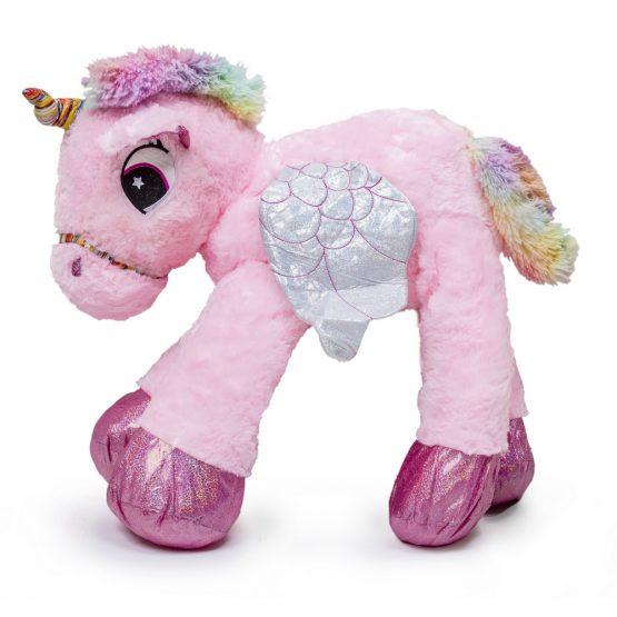 Giant Cuddly Unicorn Plush Toy – Pink