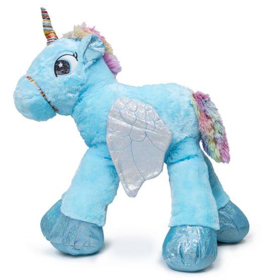 Giant Cuddly Unicorn Plush Toy – Blue