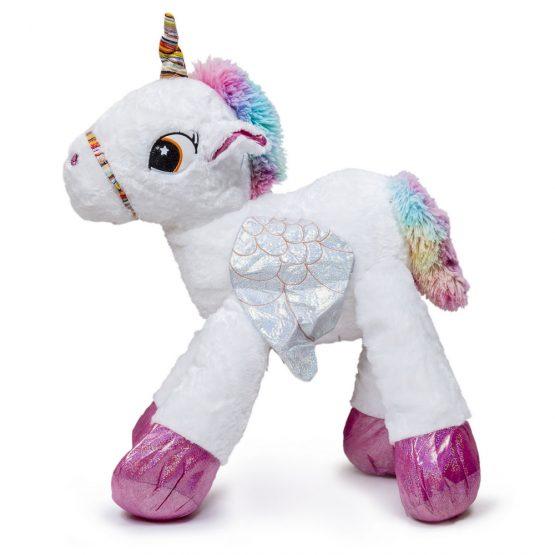 Giant Cuddly Unicorn Plush Toy – White